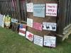 New Houlka Cornbread Festival - Vendors-Signs%2c Signs%2c Signs