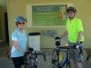 Cyclists Linda & Tom Senter, Russellville, AL