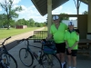 James Heine & Rose Nester from St. Louis enjoyed the Trail